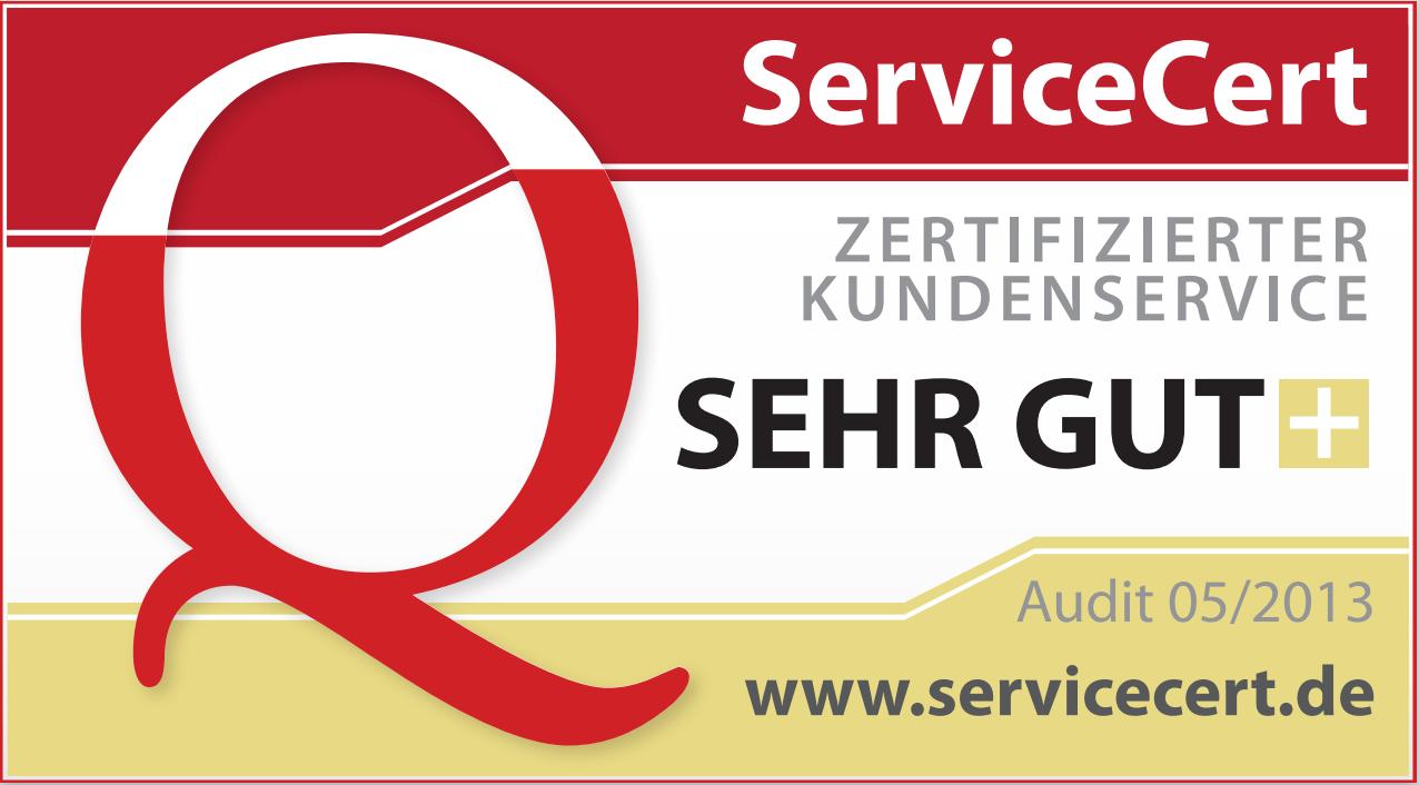 ServiceCert - eine Norm für guten Kundenservice